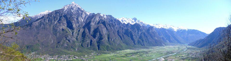 Versante Est della Valchiavenna