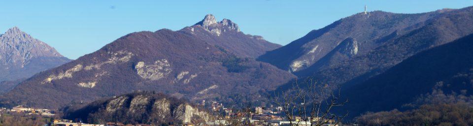 Panorama della Val Ravella